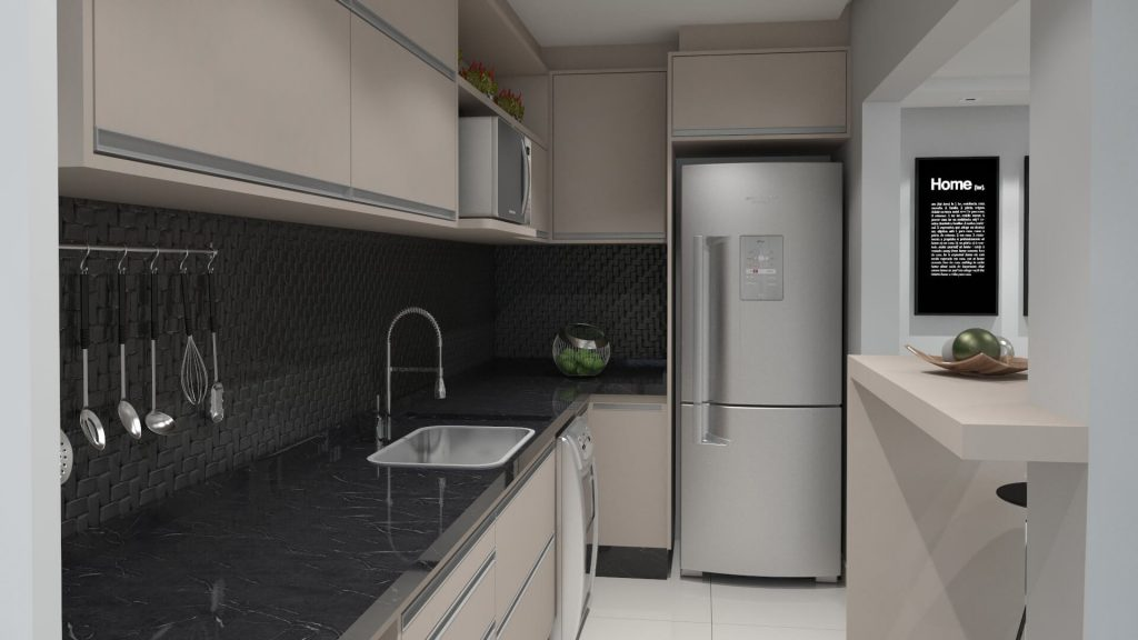 Come disporre la cucina: composizione, mobili ed ...