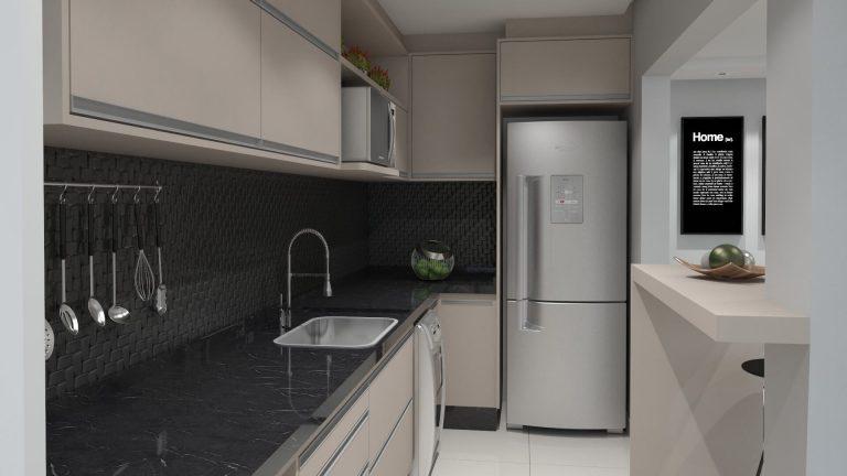 Disporre cucina - disposizione dei mobili